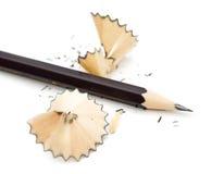 Pencil on a white background Stock Photos