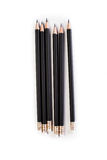 Pencil on white Royalty Free Stock Photography