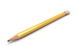 Pencil  on white background. Stock Images