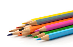 Pencil  on  white background Stock Images