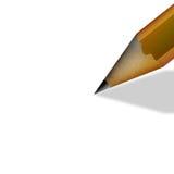 Pencil writing Stock Photo