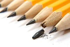 Pencile rotto Fotografia Stock Libera da Diritti