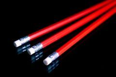 Penciles rouges Image libre de droits