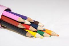 Pencilholder Royalty-vrije Stock Foto's