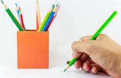 Pencill background Stock Images