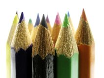 Pencils 07. Coloured pencils royalty free stock image
