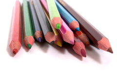 Pencils. Colorful pencils isolated on white background Stock Photo