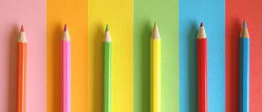 Pencils royalty free stock photo