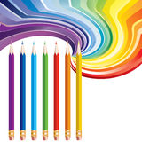 Pencils. Royalty Free Stock Image
