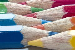 Pencils. Color pencils Stock Photography