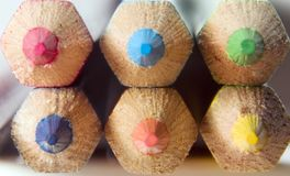Pencils. Color pencils stock images