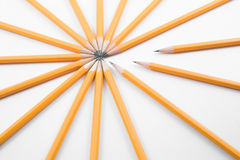 Pencils. A collection of number 2 pencils Royalty Free Stock Photography