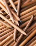 Pencils. Lots of pencils with swallow depth of field Stock Photo