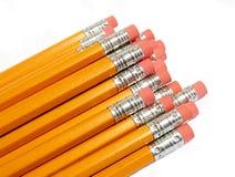 Pencils. Yellow pencils Stock Photo