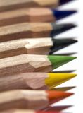 Pencils. High quality Artist color pencils Royalty Free Stock Photos