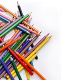 Pencils. A pack of colour pencils Stock Image