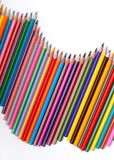 Pencils. A pack of colour pencils Royalty Free Stock Images