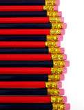 Pencils. Two colored pencils on white background Royalty Free Stock Photography