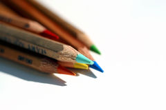 Pencils. Put together Royalty Free Stock Images