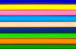 Pencils abstract striped background. Royalty Free Stock Images