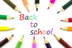 Pencils for back to school Stock Photography