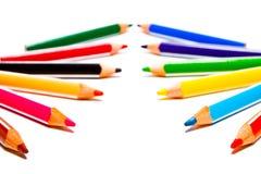 Pencils background Stock Image