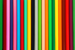 Pencils background, close up, colorful Royalty Free Stock Photos