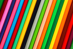 Pencils background, close up, colorful Royalty Free Stock Photo