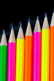 Pencils background Stock Image