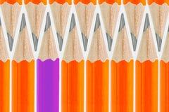 Pencils bakgrund Fotografering för Bildbyråer