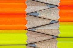 Pencils bakgrund Arkivbilder