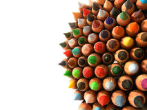 Pencils bunch Royalty Free Stock Images