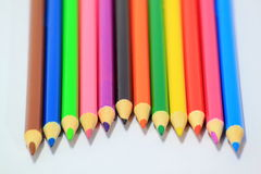 Pencils for children Royalty Free Stock Photo