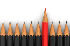 Pencils (clipping path included) Stock Photography