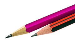 Pencils closeup Royalty Free Stock Photography