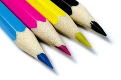Pencils CMYK Royalty Free Stock Image