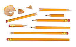 Pencils collection Stock Images