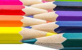 Pencils colo Royalty Free Stock Images