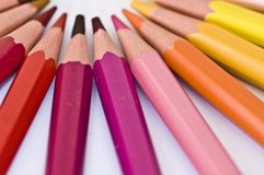 Pencils color Stock Image