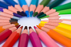 Pencils color Royalty Free Stock Photography