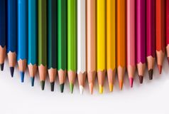 Pencils color Stock Images