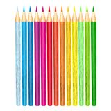 Pencils color set. For painting vector Stock Photos