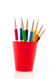 Pencils with colorful grip Stock Image