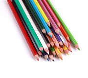 Pencils Colors Royalty Free Stock Photos