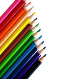 Pencils and colors Stock Photos