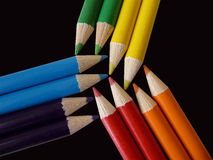 Pencils colours Royalty Free Stock Image
