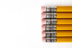 Pencils with Copy Space Royalty Free Stock Image