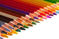 Pencils with copyspase Royalty Free Stock Images