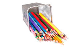 Pencils. In a Cup Holder Royalty Free Stock Photo