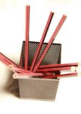 Pencils and desk tidy Royalty Free Stock Photo